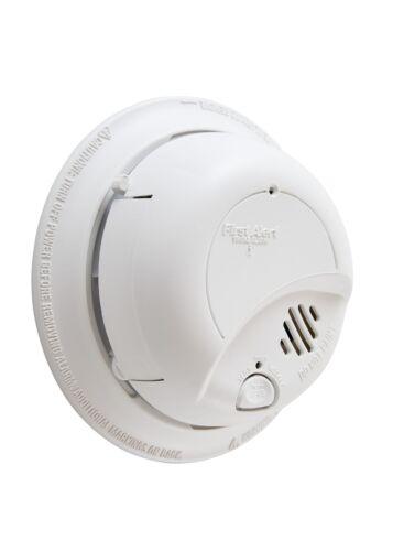 Smoke Alarm Monoxide Detector Hardwired with Battery Backup Wall Mount
