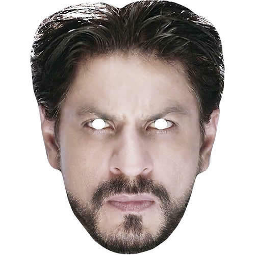 Shah-Rukh-Khan-Celebrity-Bollywood-Card-Face-Mask-All-Our-Masks-Are-Pre-Cut