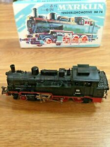 Marklin-3095-Digital-Steam-Locomotive-Br74-Boxed