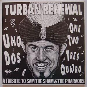 TURBAN-RENEWAL-Tribute-to-Sam-Sham-Pharaohs-VINYL-LP-garage-PUNK-VARIOUS