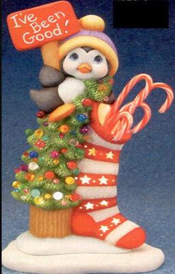 Ready to Paint Pottery DIY Ceramic Bisque Penguin Paint Kit