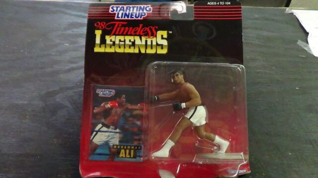 New 1998 Kenner Starting Lineup SLU Muhammed Ali Figure Timeless Legends