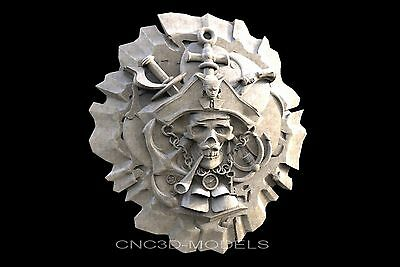 3D STL Models for CNC Router Carving Artcam Aspire USA D-Day Army Normandy D201