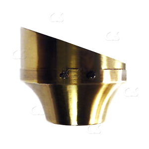 Sloped Ceiling Fan Mounting Bracket Antique Brass Up To 50