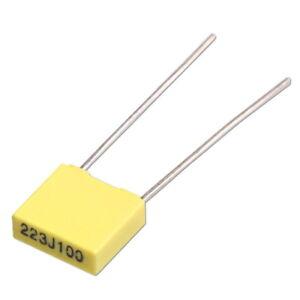 10Stk-MKT-Kondensatoren-1-5nF-2-2nF-4-7nF-10nF-22nF-47nF-68nF-100nF-63V-100V
