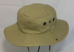 046694f7cfdd9 JC Penney SPF Solar Boonie Hat with Wind Ties and Side Snaps