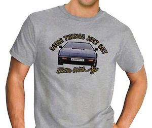 Somethings-Lotus-Esprit-Sports-Classic-Car-Sport-Grey-T-Shirt-Ideal-Gift