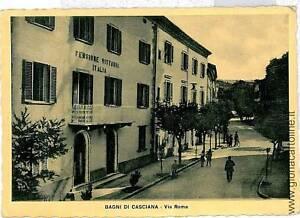 CARTOLINA d\'Epoca - PISA: BAGNI DI CASCIANA | eBay