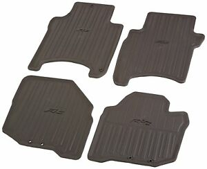 Genuine Honda Oem Honda Fit All Season Rubber Floor Mat Set 08p13 Sln 101 Ebay
