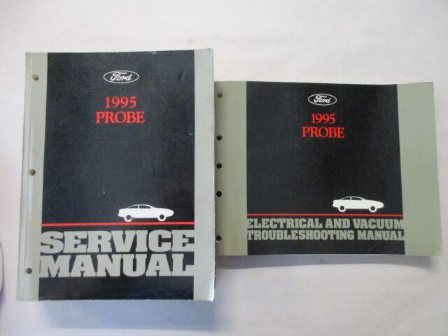 1995 Ford Probe Service Shop Repair Manual  U0026 Wiring