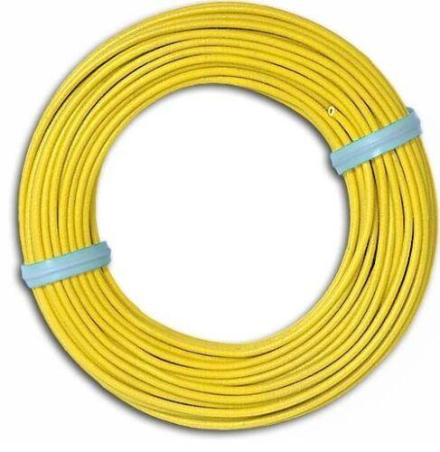 #neu en OVP # longitud 10m Busch 1791 cable amarillo precio básico 1m = 0,19 euro