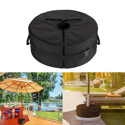 Outdoor Umbrella Parasol Tent Base Stand Patio Garden Sunshade Sand Bag Weights