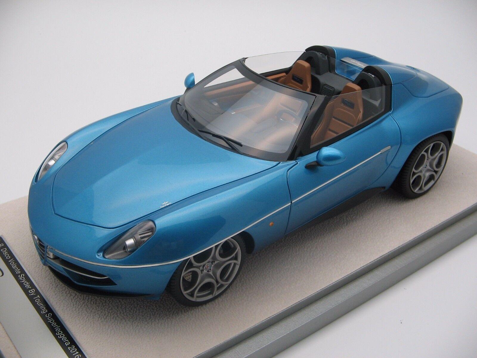 1 18 Scale Tecnomodel Alfa Romeo Disco Volante Spyder by Touring tm18-68b
