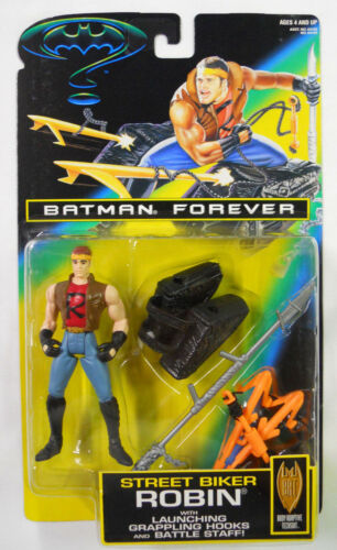 STILL SEALED 1995 Kenner Batman Forever Street Biker Robin VINTAGE