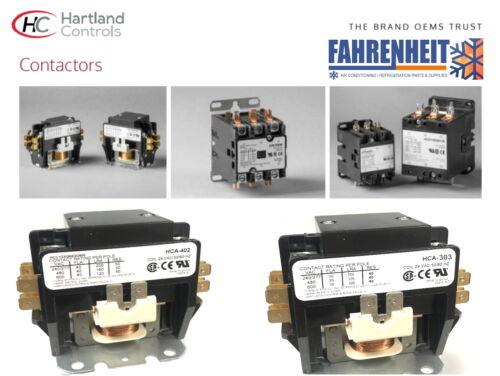 COIL 24 VAC 2 /& 3 POLE HARTLAND Controls CONTACTOR 40 /& 50  AMP
