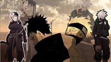 Poster 42x24 cm Naruto Shippuden Hatake Kakashi Uchiha Obito