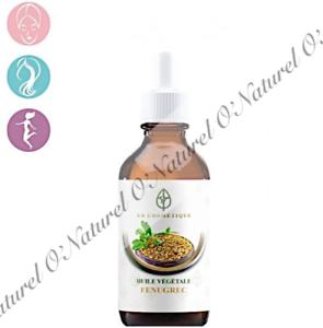 Huile-de-Fenugrec-Compte-Goutte-100-Pure-amp-Naturelle-30ml-Fenugreek-Oil-Dropper