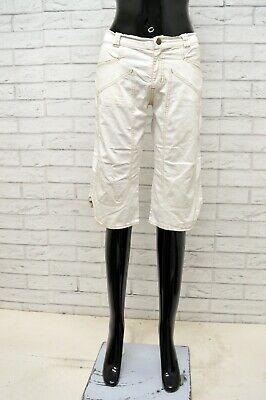Sistematico Bermuda Jeckerson Donna Taglia Size 34 Pantalone Corto Shorts Pantaloncini Woman