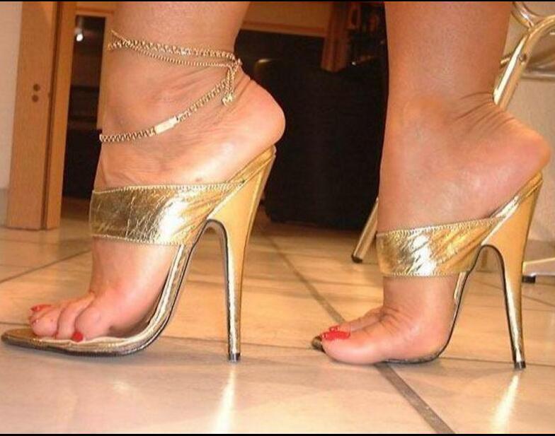 Sz 37-45 Roman Womens Open Toe Hollow shoes High Heel Stilettos Slpper Sandals