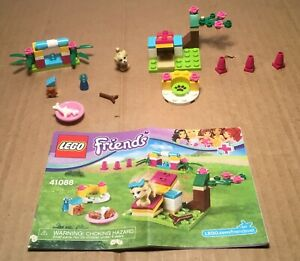 2015-Lego-Friends-Set-41088-PUPPY-TRAINING-65Pcs-w-Instructions