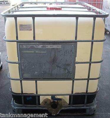 IBC1000_C - 1000L IBC waste water tank with FREE BSP adaptor