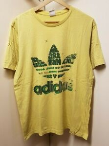 adidas yellow shirt men