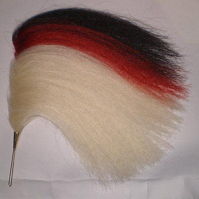Parade Tschako Haarbüsche Tschapka Natürliches Rot Rosshaarbusch SHAKO