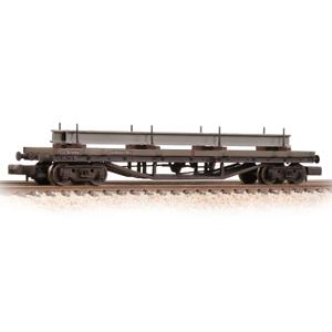 Graham-Farish-373-930-N-Gauge-BR-Bauxite-Bogie-Bolster-C-Wagon