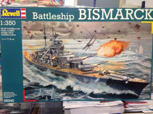 Revell Battleship BISMARCK 1:350 05040 ++
