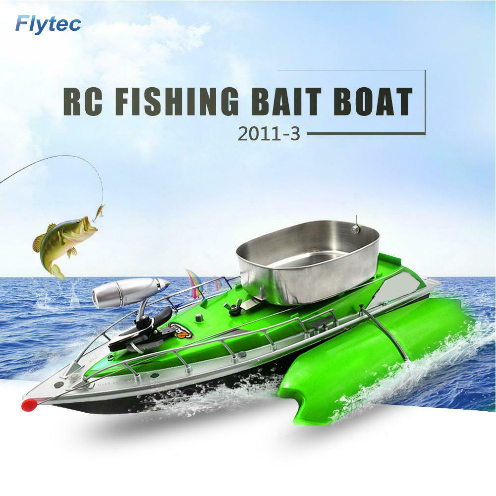 Remote Control RC Wireless pesca Bait Boat Speedboat 500M 2.5kmh Fish Finder