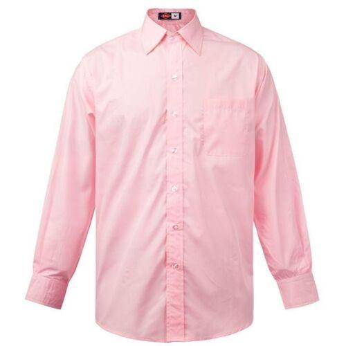 Mens Designer Lee Cooper Casual Long Sleeve Pocket Shirt Top Size S M L XL XXL