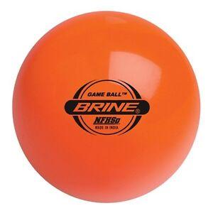 Brine-Field-Hockey-BALL-Multi-Turf-Game-Ball-FBMN-OR-STAMPED-NFHS-ORANGE-SINGLE