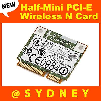 Meind for HP BCM943224HMS Wireless Dual Band 802.11 a//g//n Half Mini PCI-E WiFi Card