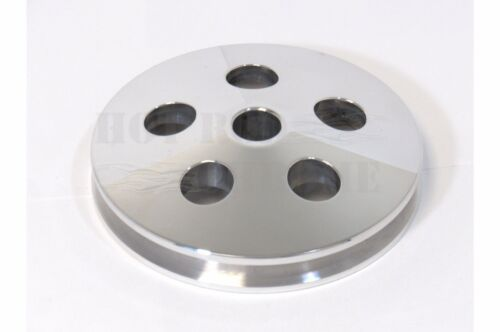Type II Power Steering Pump Pulley Only Polished SWP SBC