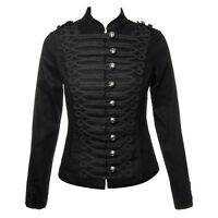 New Black Steampunk My Chemical Romance Emo MCR Military Parade Goth Jacket Coat