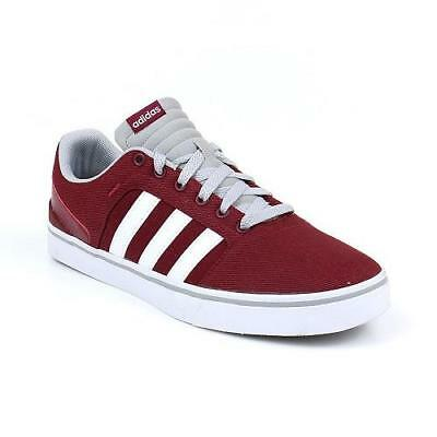 Adidas Red Canvas Sports Shoes