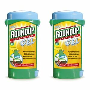 roundup gel 300 ml unkrautvernichter unkraut. Black Bedroom Furniture Sets. Home Design Ideas