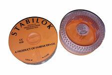 Fairfax Dental 60054 Stabilok Titanium Pins 027 Orange Economy Kit 100pk