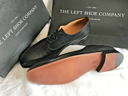 La chaussure Gauche Société custom made entier Coupé Derby Comfy Chaussures Tailles UK 12-14