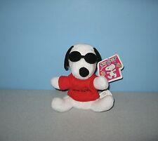 New Joe Cool Sunglasses Snoopy & Friends Peanuts Gang Bean Plush by Irwin Toys