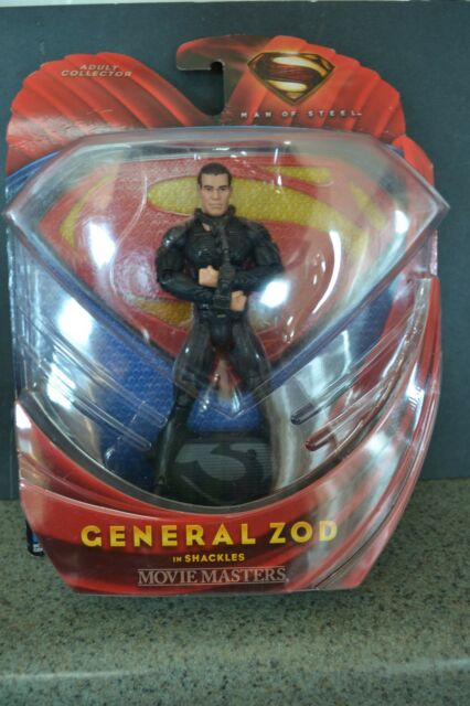 MAN OF STEEL superman movie GENERAL ZOD movie masters 6
