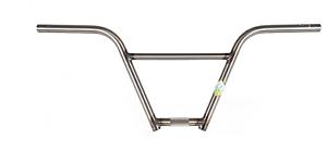 S&M BIKE FUBAR BARS 10  INCH GLOSS CLEAR RAW 10  BMX BIKE BAR HANDLEBAR BARS
