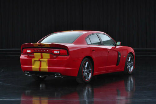"10/"" Plain Rally stripes Stripe Graphics Fit all Year /& Model 02-13 Dodge Charger"