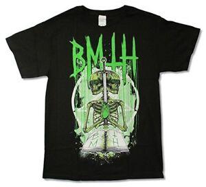 Bring Me The Horizon T-shirt Double Skeleton Official Merchandise Mkymao4r-07165227-695852488