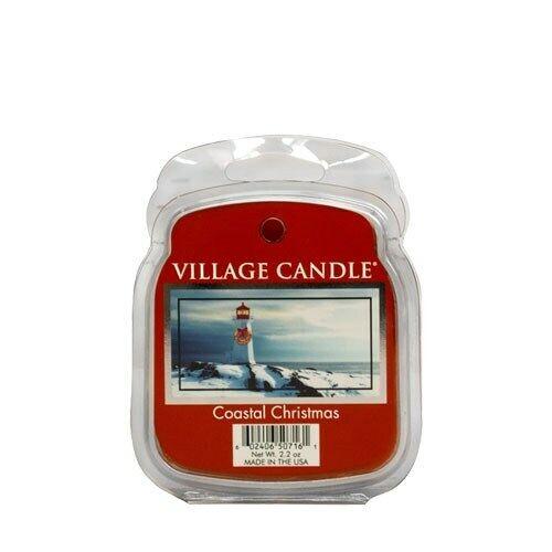 Village Candle Cire Fondre-Coastal Noël