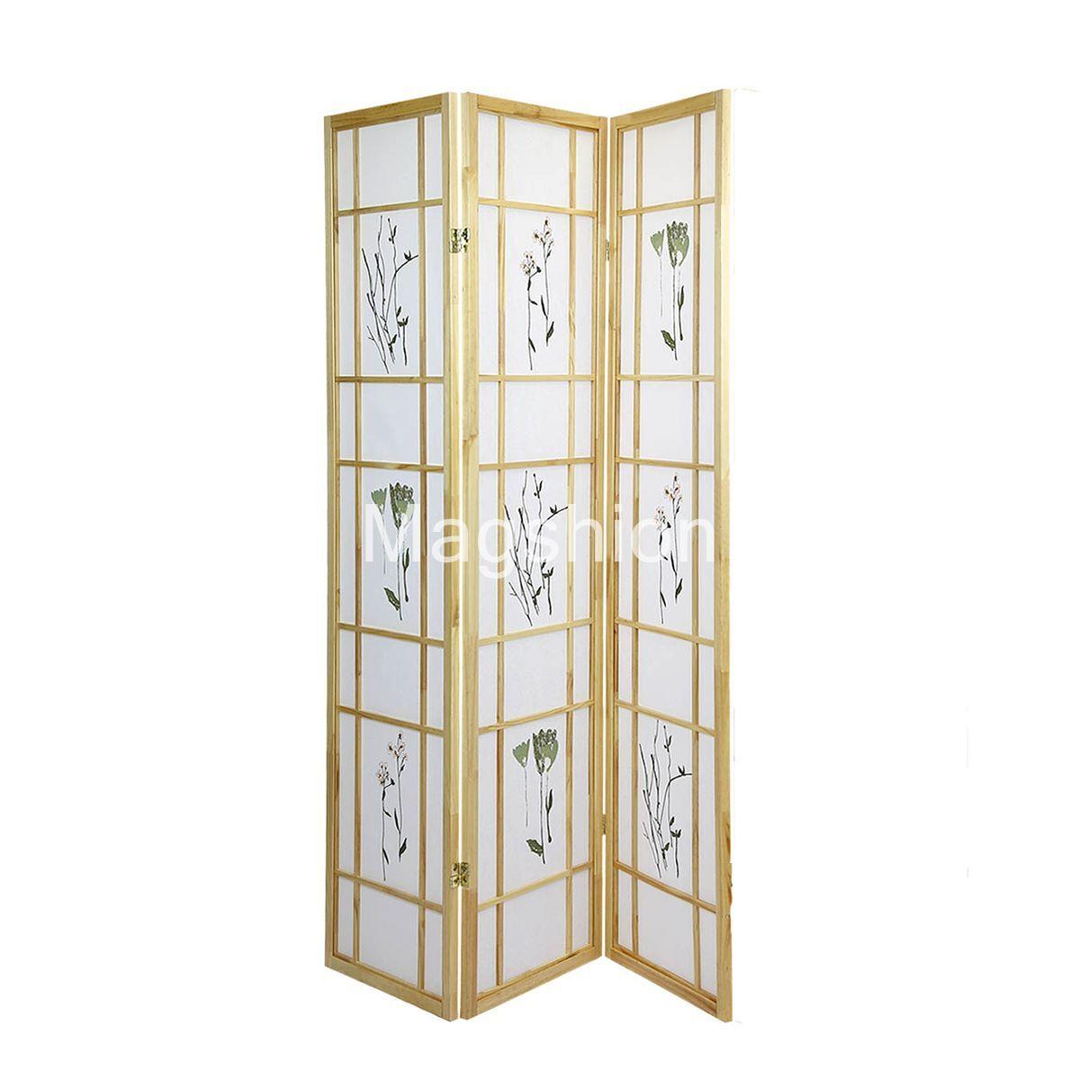 Http Www Ebay Com Itm 3 4 Panel Japanese Oriental Room Divider Hardwood Shoji Screen Privacy Wall 331594286878