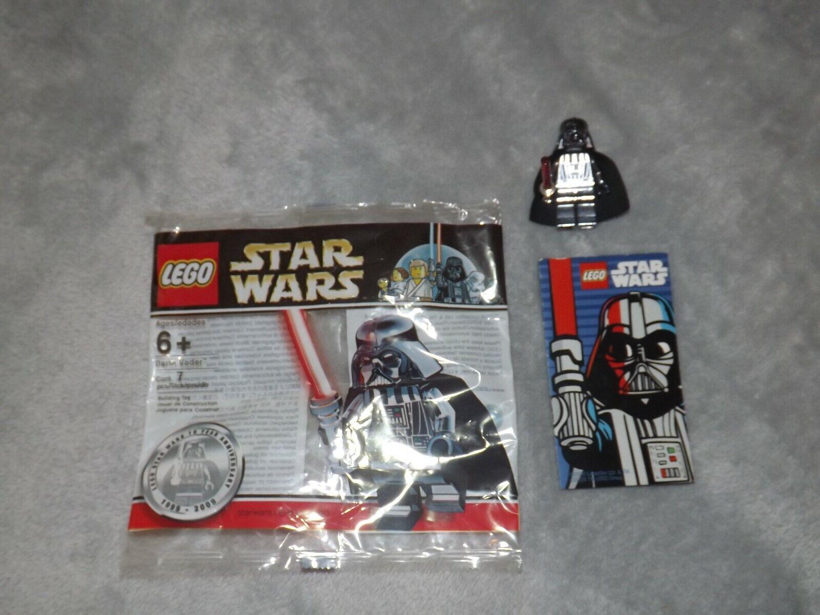 gli ultimi modelli LEGO Estrella Guerras Darth Vader Vader Vader Chrome 4547551 Ltd Ed. Poly borsa 1 di 10,000 NR Nuovo di zecca  in vendita scontato del 70%