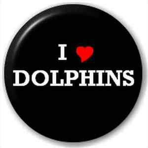 Small-25mm-Lapel-Pin-Button-Badge-Novelty-I-Heart-Love-Dolphins