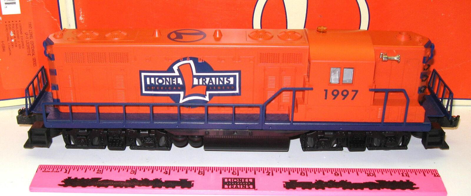 Lionel 6-18846 6-18846 6-18846 1997 Lionel Centennial Series GP-9 Locomotive a14384