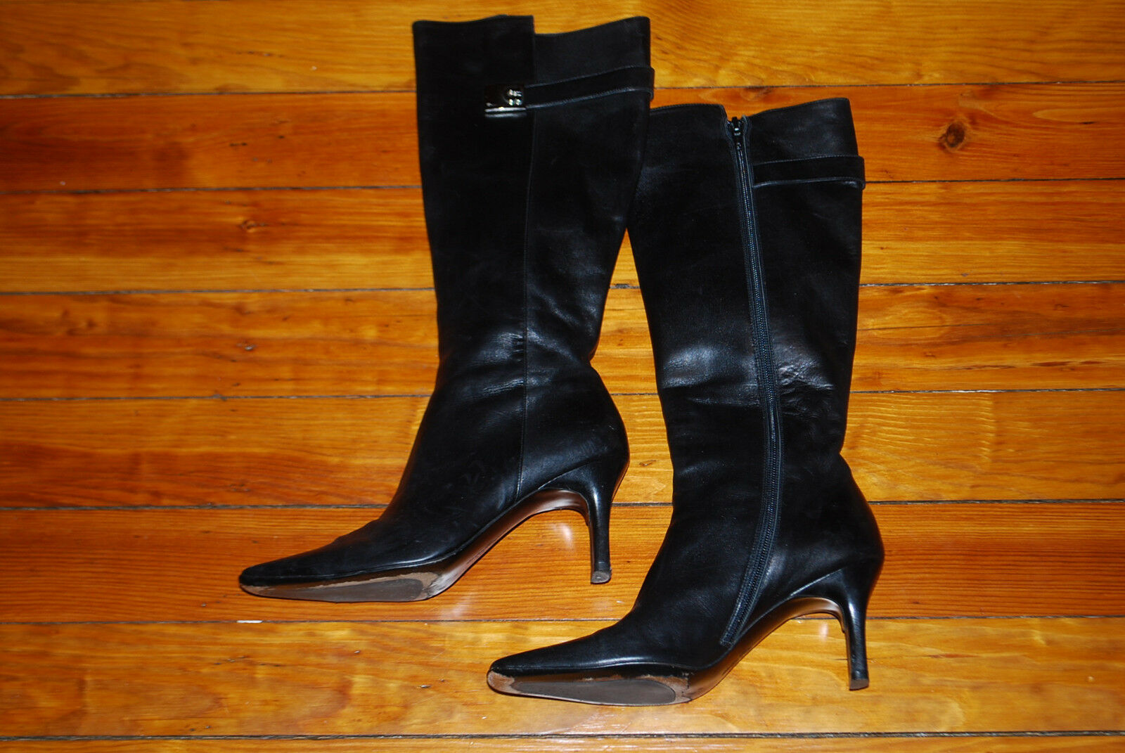 Pleaser Puntera Abierta/tacón Abierta/tacón Puntera con cordones botín oculto bolsillo de cremallera negro/plata 2a897a